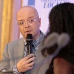 """Yves Muckensturm, directeur adjoint du marché collectivités du groupe EDF, partenaire du prix """"Réseaux numériques""""."""