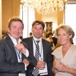Pierre Sacksteder, PDG de Newsco Group - Pascal Thévenot, député des Yvelines et Caroline Cayeux, sénateur maire de Beauvais