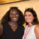 Blandine Klaas, rédactrice en chef de la Revue des Collectivités Locales et Amélie Lénique, Newsco Group