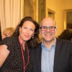 Anna Seifert, Newsco Group et Stéphane Demazure, éditeur délégué de la Revue des Collectivités Locales